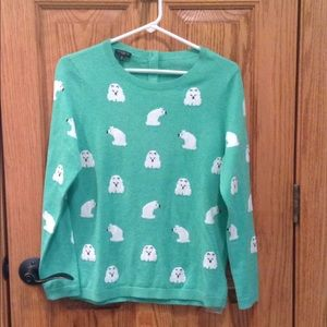 NWT Talbots Polar Bear Sweater